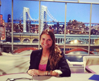 Kelly Taylor '13 interned last summer at The Late Show with David Letterman