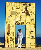 Maurizio Albahari at Porta di Lampedusa – Porta d'Europa