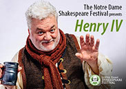 Notre Dame Shakespeare presents Henry IV