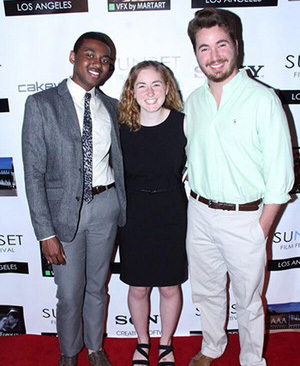 Suicide Disease filmmakers at the Sunset Film Festival