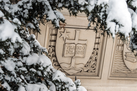 o_shaughnessy_hall_detail–after_snowfall
