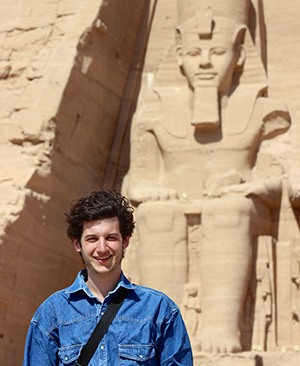 Austin Hagwood in Egypt