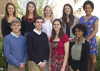 2015 undergraduate Fulbright Award winners