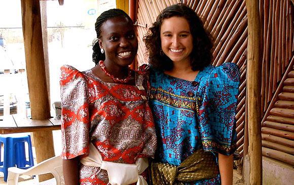 Emily Mediate in Uganda
