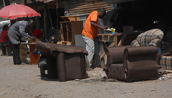 Topmark Furniture, a small business in Nairobi, Kenya