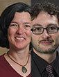 Donna Glowacki and Maurizio Albahari