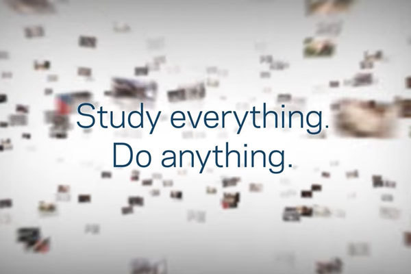 Study Everything. Do Anything.
