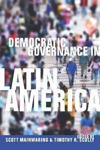 "cover of ""Democratic Governance in Latin America"""