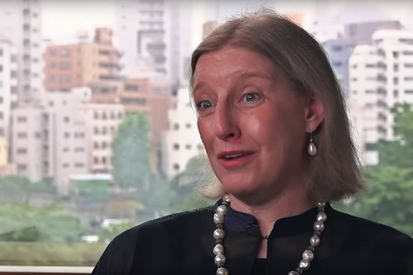 Marie Kissel '83 — Global Affairs VP, Abbott Laboratories, Tokyo