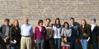 Classics Students Use Rome as Classroom for a Week