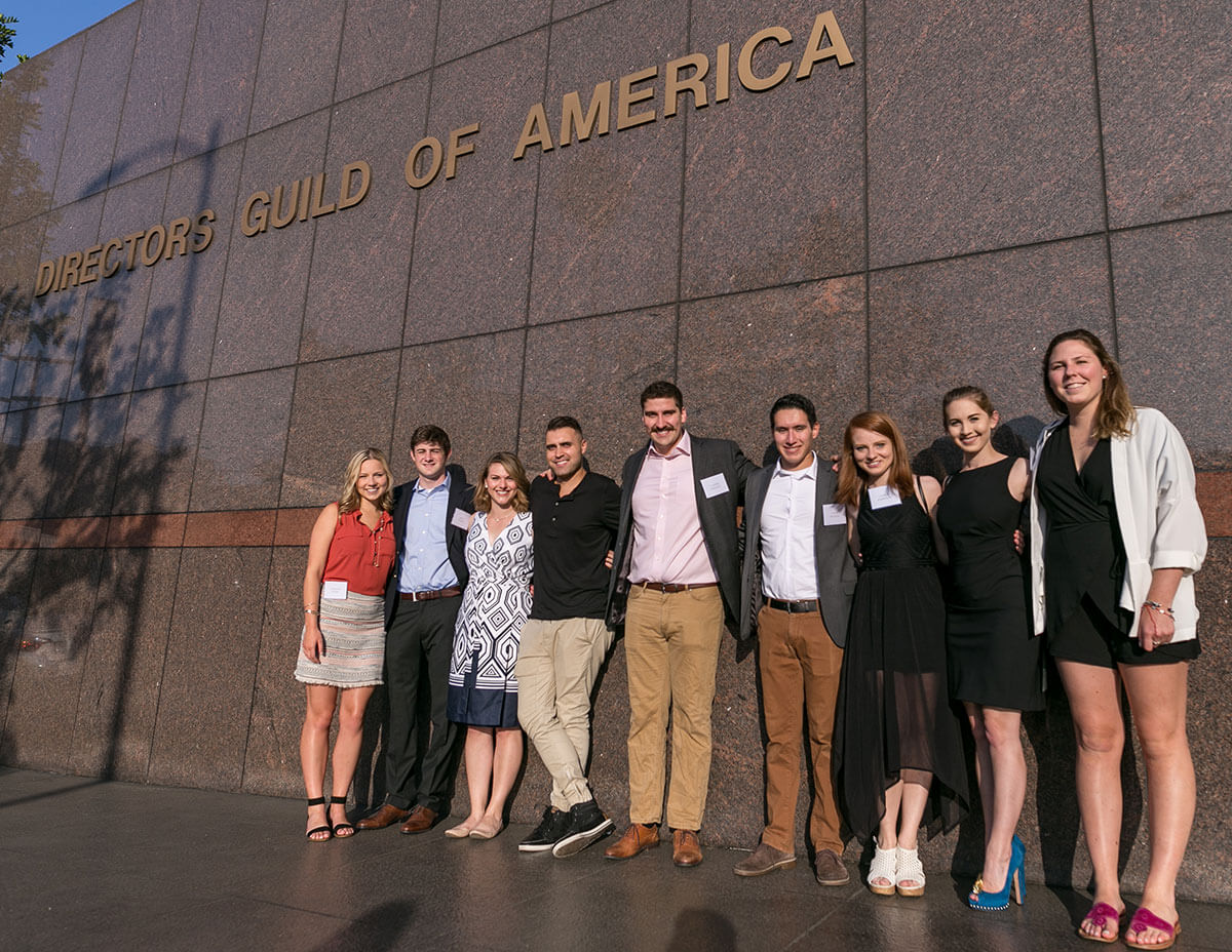 FTT Students And Young Alumni In Los Angeles