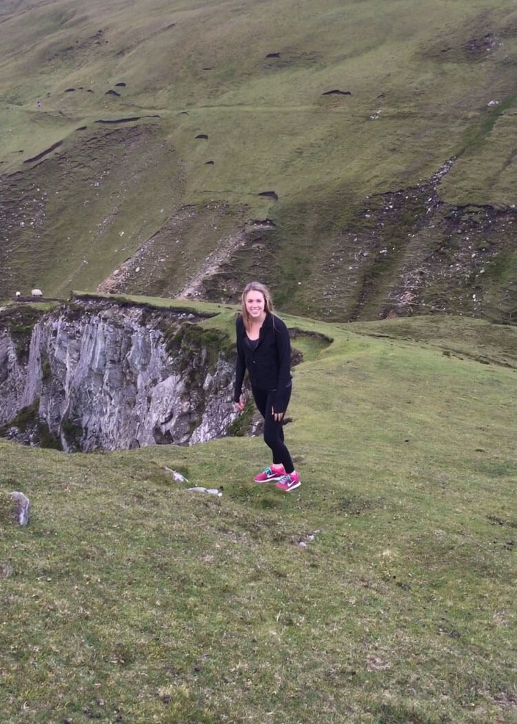 Michaela Larson In Ireland