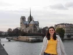 Notre Dame Junior Claire Reising wins 2010 WIF Undergraduate Essay Award