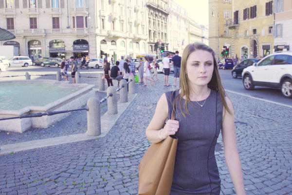Video: History major interns at U.S. Embassy in Rome