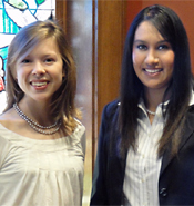 Juniors Simpson and Parikh Named 2010 Truman Scholars