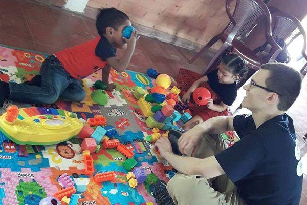 Andrew Grose El Salvador Kids
