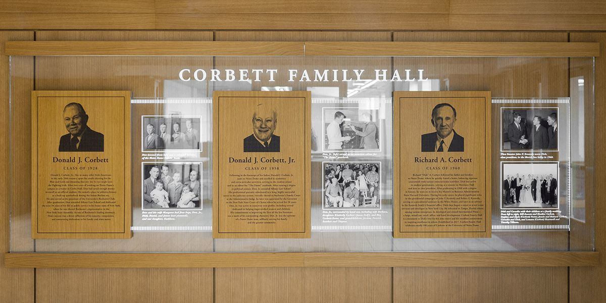 Entryway Corbett Family Hall 1200