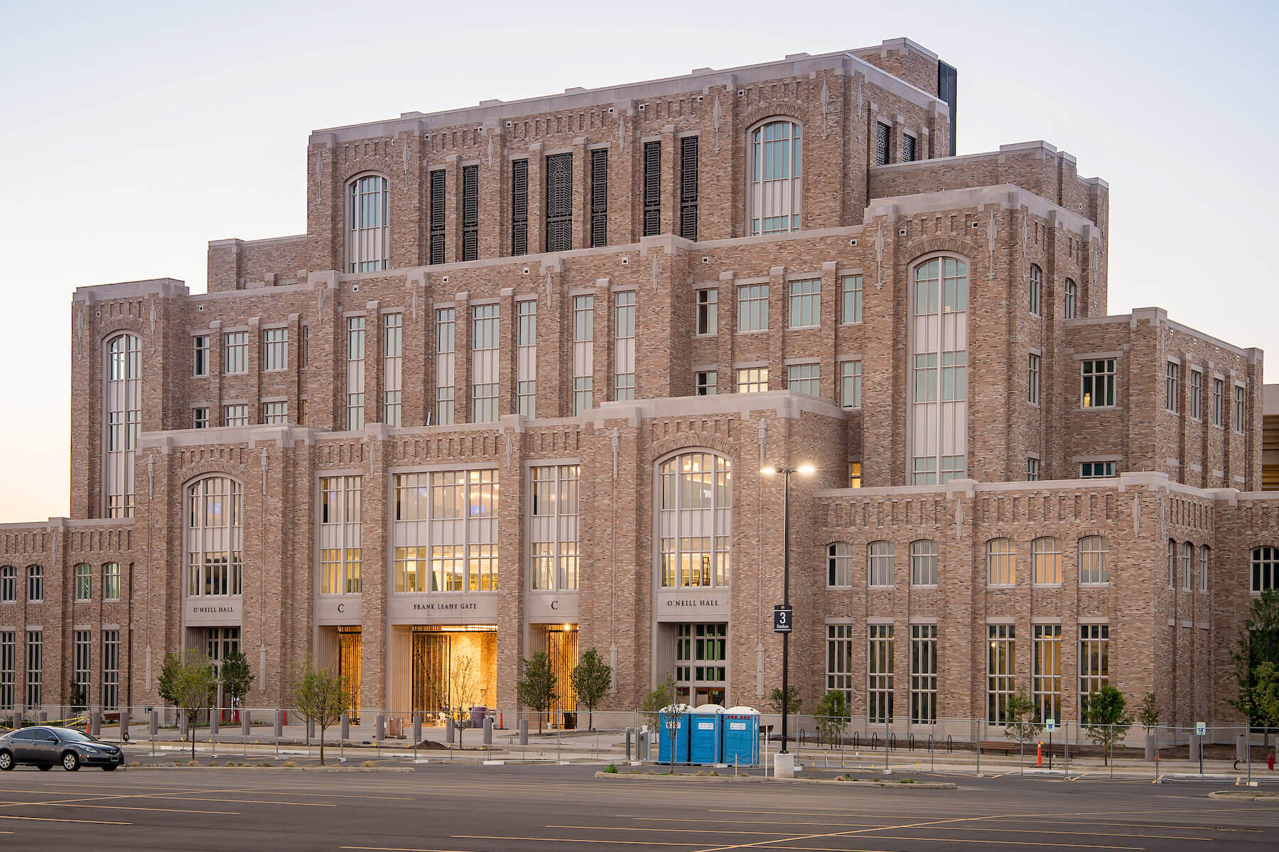 The exterior of O'Neill Hall