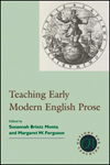 Teaching Early Modern English Prose