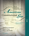 American Constitutional Law: Governmental Powers and Democracy, Vol