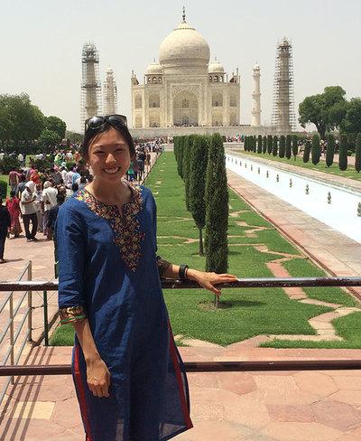 Candice Park Taj Mahal