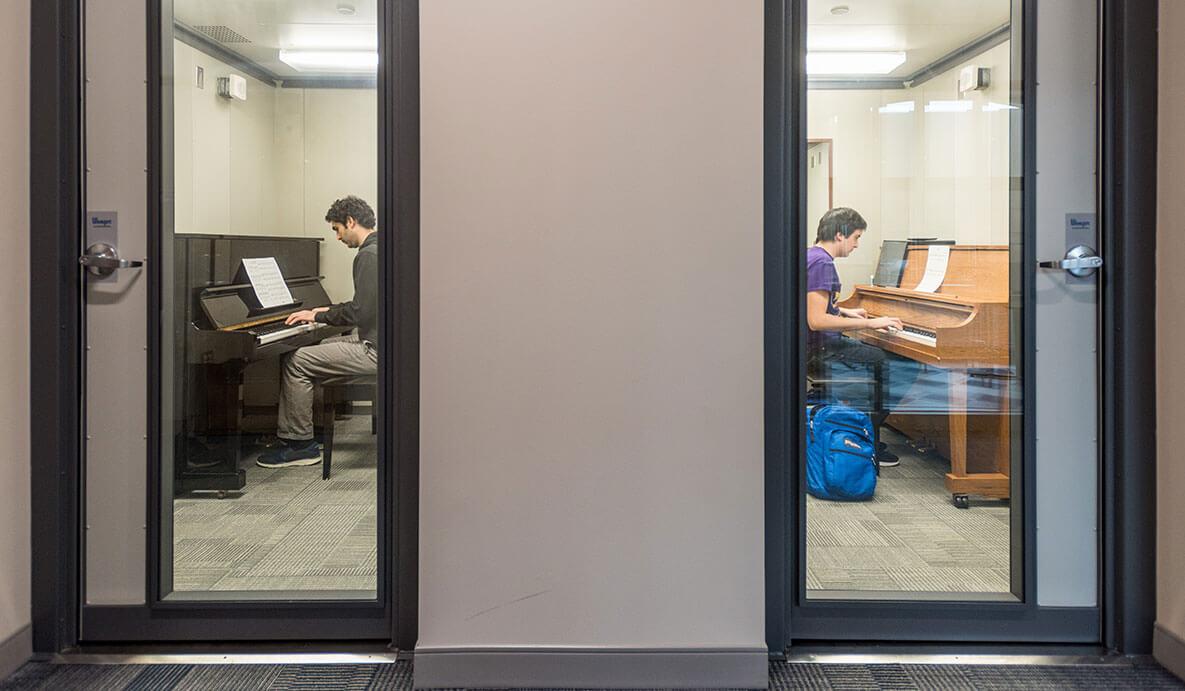 O Neill Hall Piano Rehearsal 1200