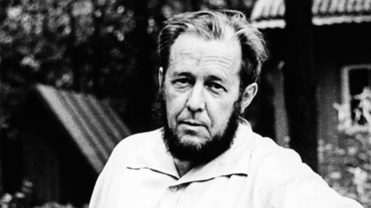 Aleksandr Solzhenitsyn Feature 2