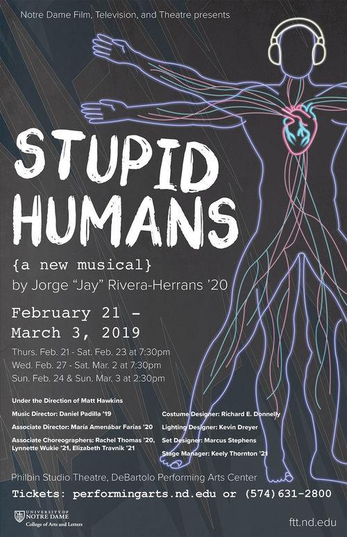 Stupidhumans Poster