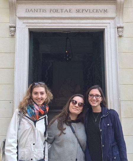 Gianna Van Heel Dante Tomb