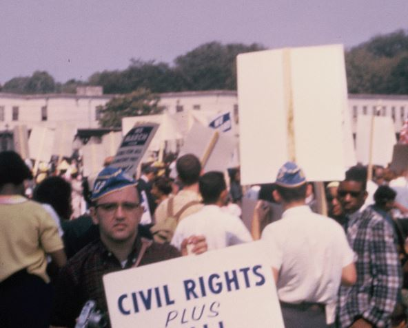 Dick At March On Washington