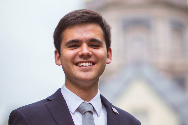 How a Latino Studies Scholar found his voice at Notre Dame through theology, journalism, and political science