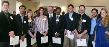 Graduate Research Symposium winners