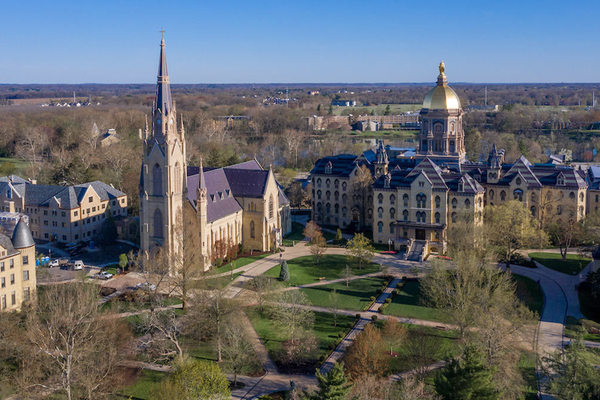 New history of Notre Dame charts academic growth, consistency in mission