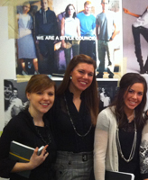 Notre Dame design students at Kenneth Cole studios in NYC