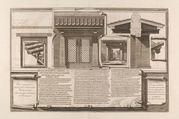 Art historian's research pieces together Piranesi's books — from the backs of drawings