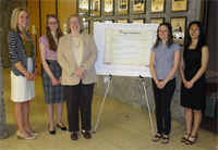 Undergraduate Library Research Award Winners