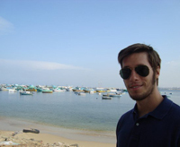 Ryan Shannon by the Dead Sea