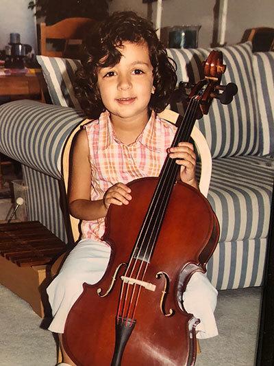 Veronica Mansour Cello