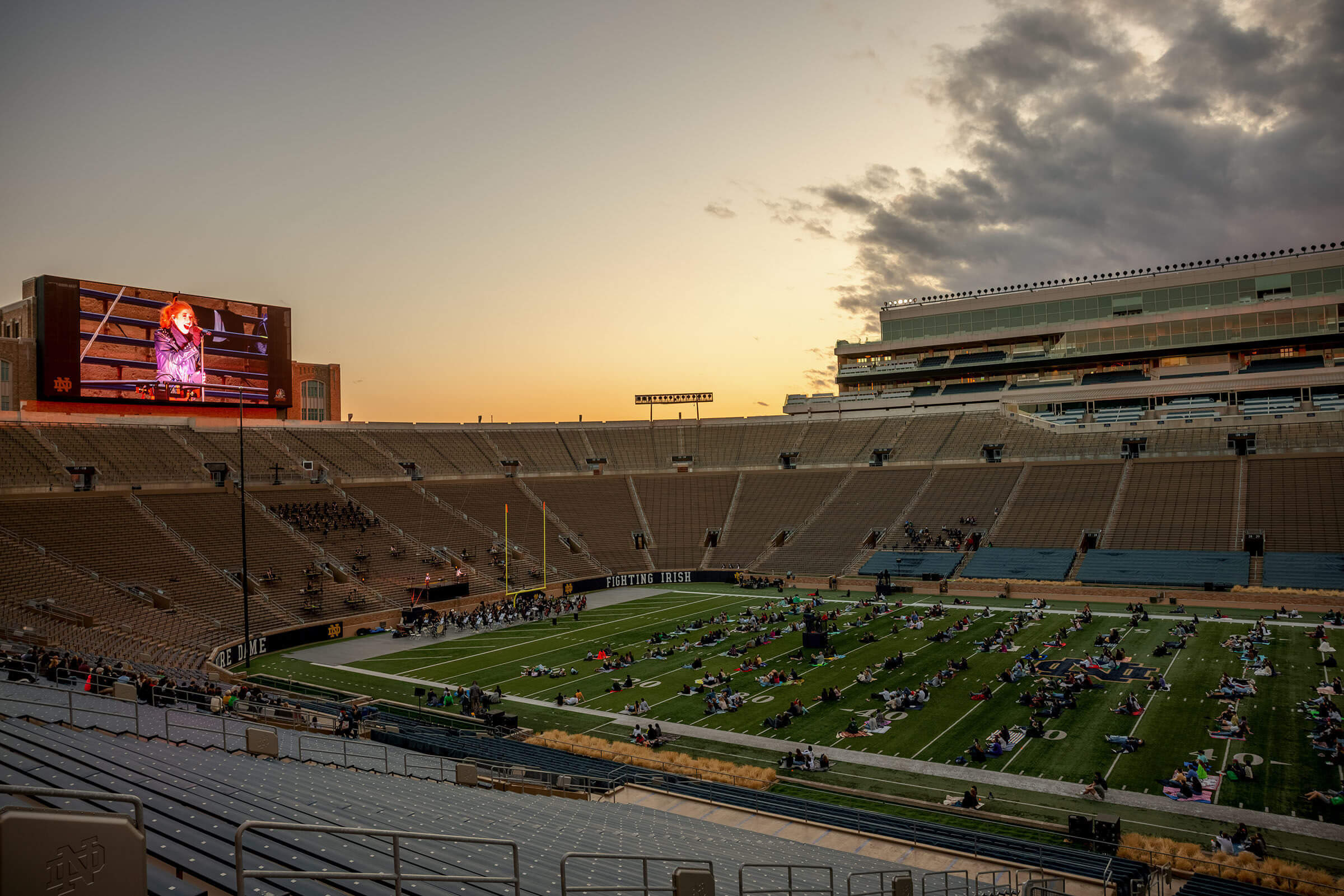 Jcs Notre Dame Stadium