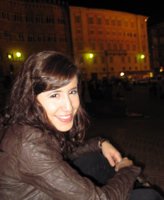 Carolyn Caballero in Italy