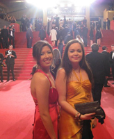 Marie Wicht '11 interning at the Cannes Film Festival
