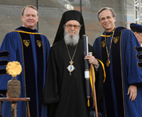 Archbishop Demetrios receives honorary doctorate