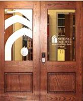Medieval Institute doors