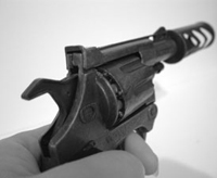 Wielding a gun increases a person's bias to see guns in the hands of others, new research from the University of Notre Dame shows.