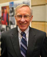 Robert C. Johansen, professor of political science and peace studies and a founding faculty member of the Kroc Institute for International Peace Studies