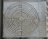 Labyrinth in Italy's Lucca Cathedral