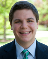 2012 Valedictorian Michael O'Brien majored in political science with a minor in philosophy