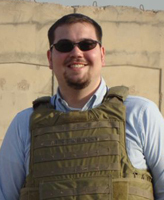 Luke McLaurin B.A. '03 M.A. '04 spent 14 months in Iraq, acting as a legal advisor for judges, police, attorneys, and law students as they worked to improve their criminal justice system.