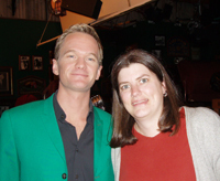 Christine Becker and Neil Patrick Harris