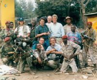 Dr. Bob Arnot in the Congo